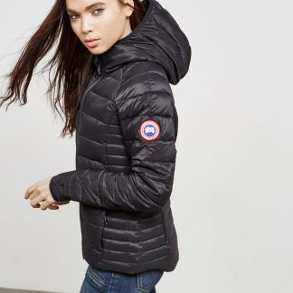 ea09fa9f937c26 Best Cheap Canada Goose Brookvale Padded Hooded Jacket Canada Goose  Outlet.Ca