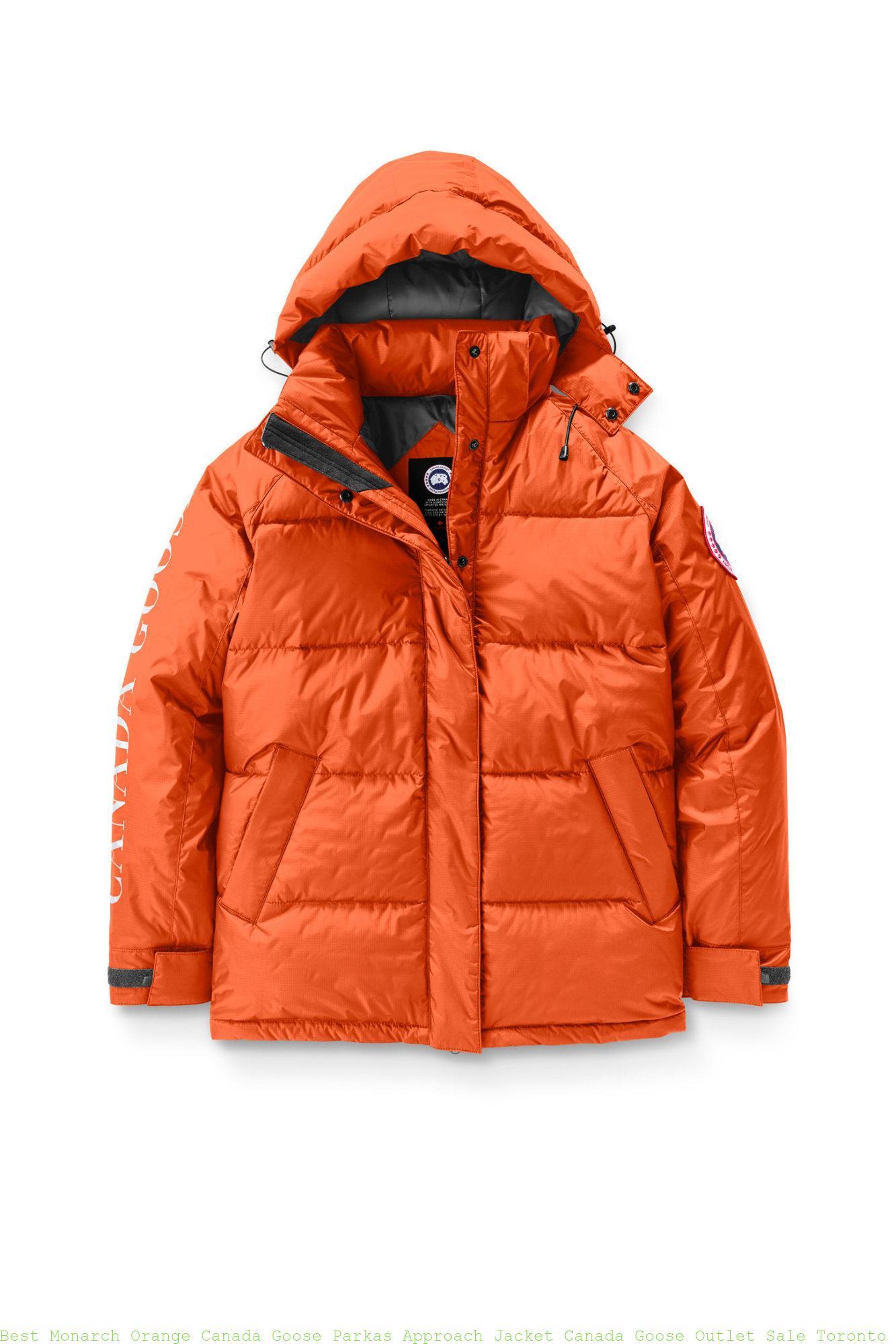 06c0bd82dd8 Best Monarch Orange Canada Goose Parkas Approach Jacket Canada Goose Outlet  Sale Toronto 2078L