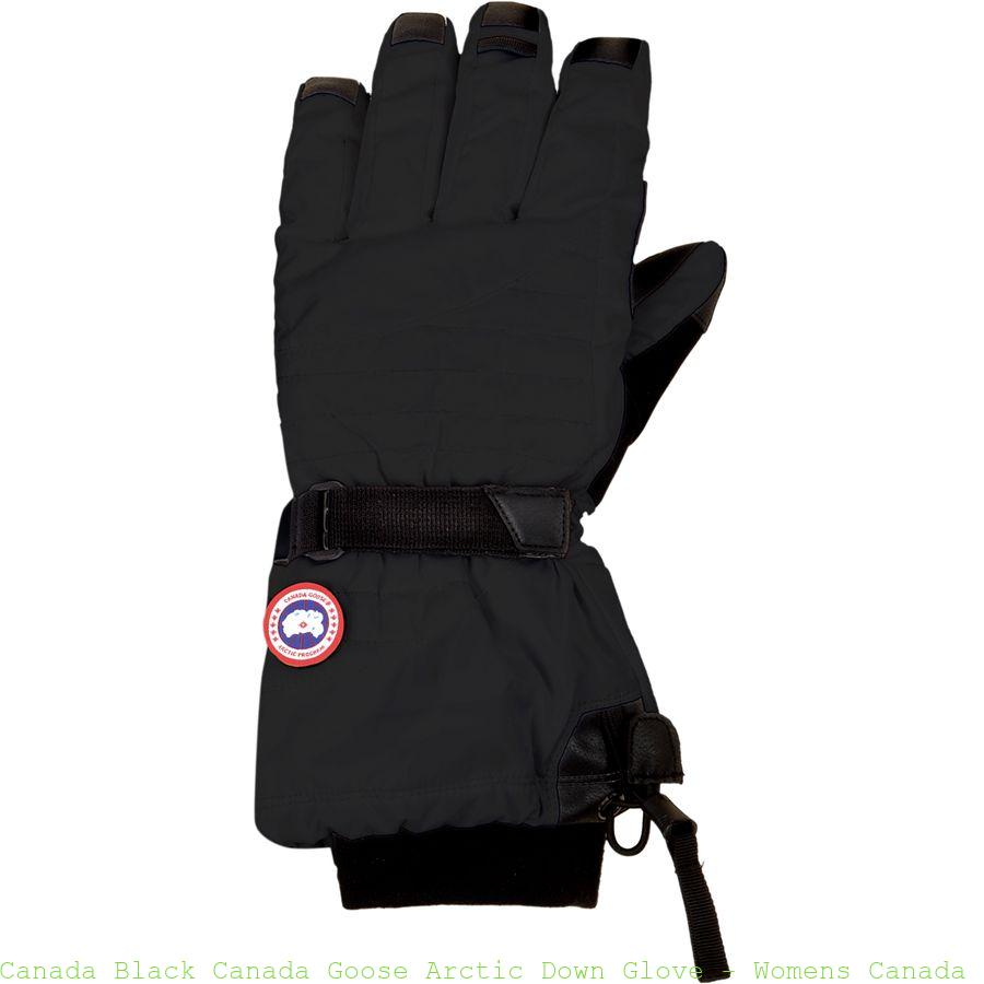 Canada Black Canada Goose Arctic Down Glove Womens Canada Goose Outlet Paypal Cdg002r
