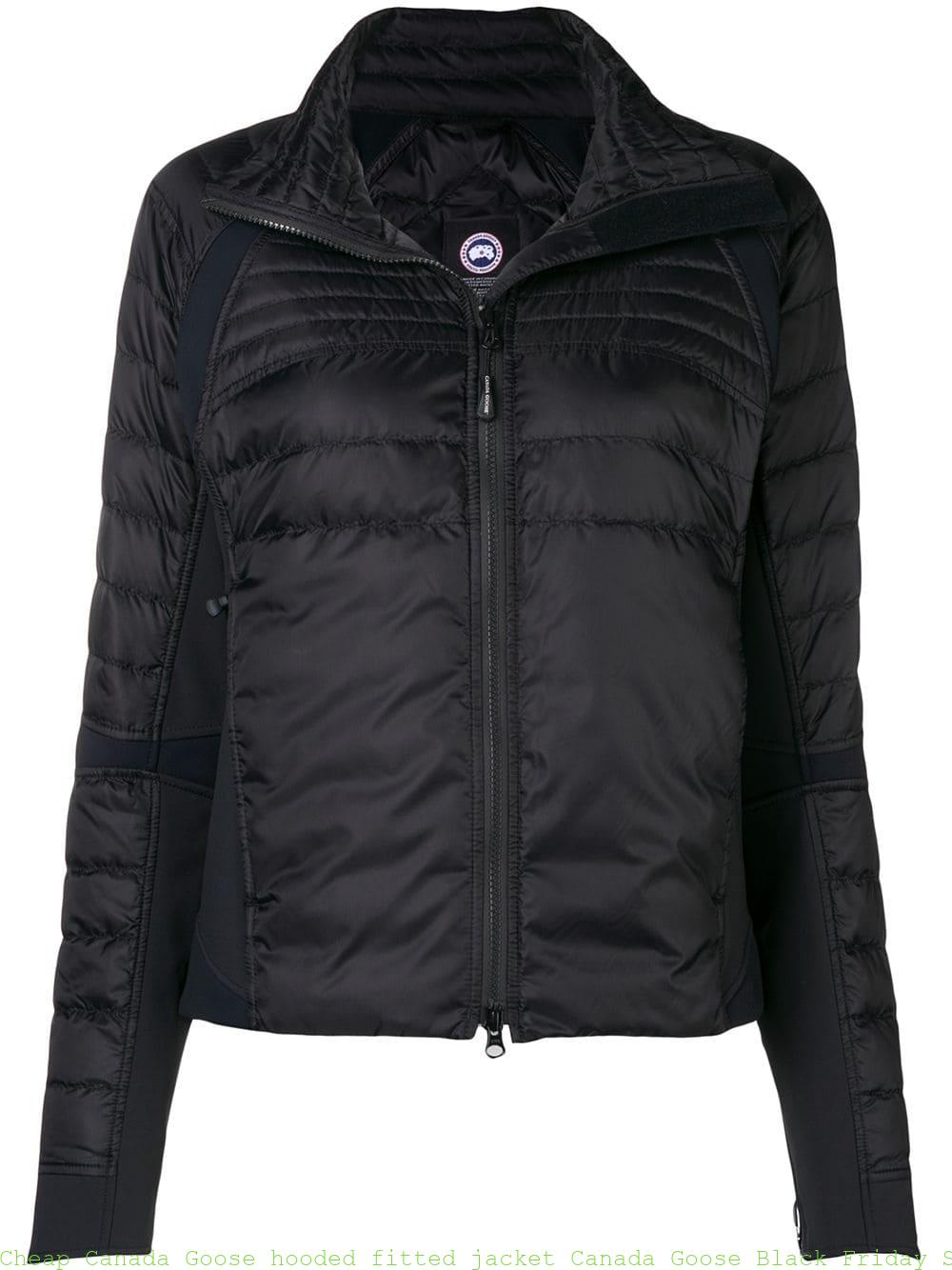 4143cae07 Cheap Canada Goose hooded fitted jacket Canada Goose Black Friday Sale  13174465