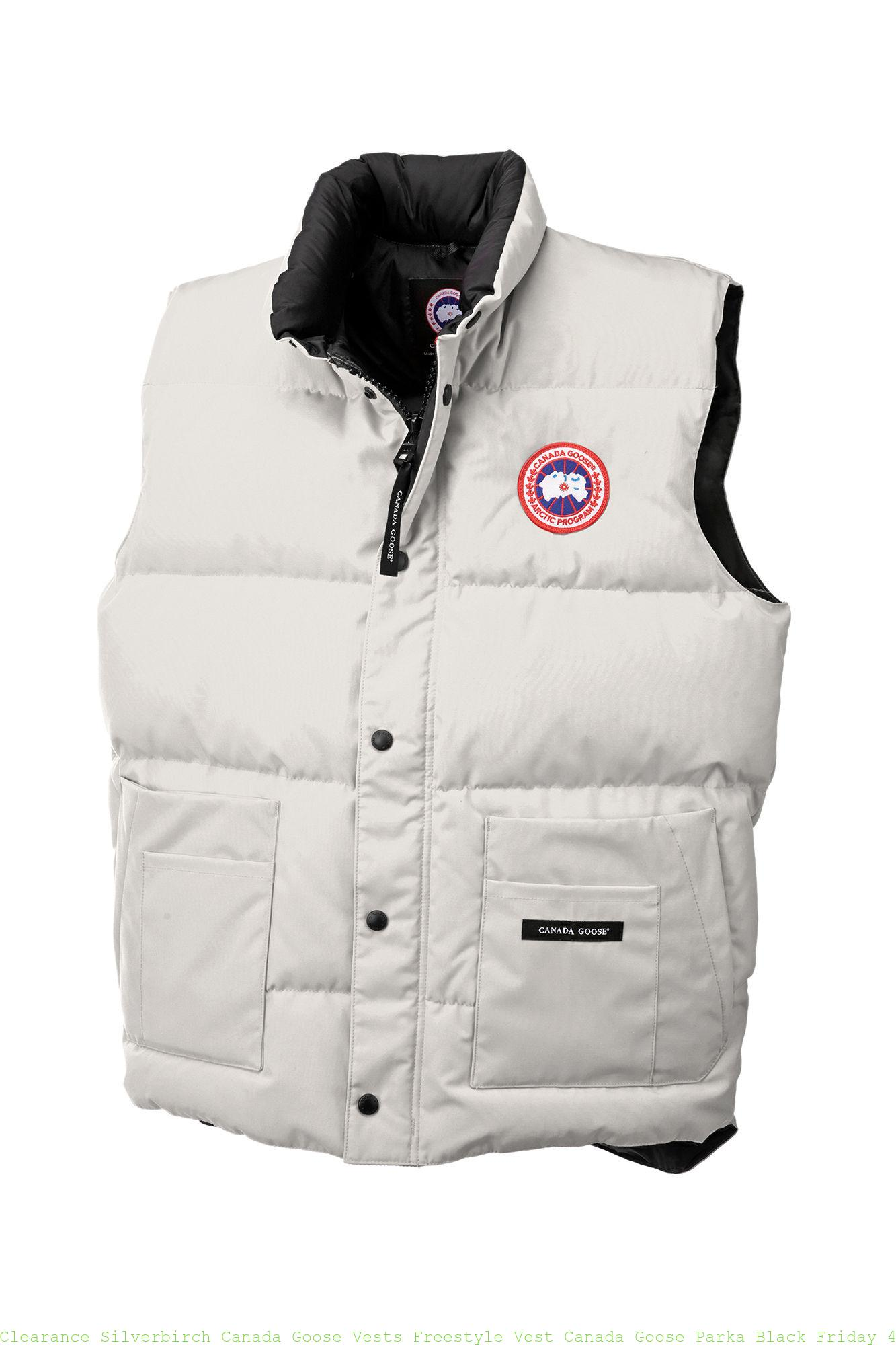 54e729fa599 Clearance Silverbirch Canada Goose Vests Freestyle Vest Canada Goose Parka  Black Friday 4150M