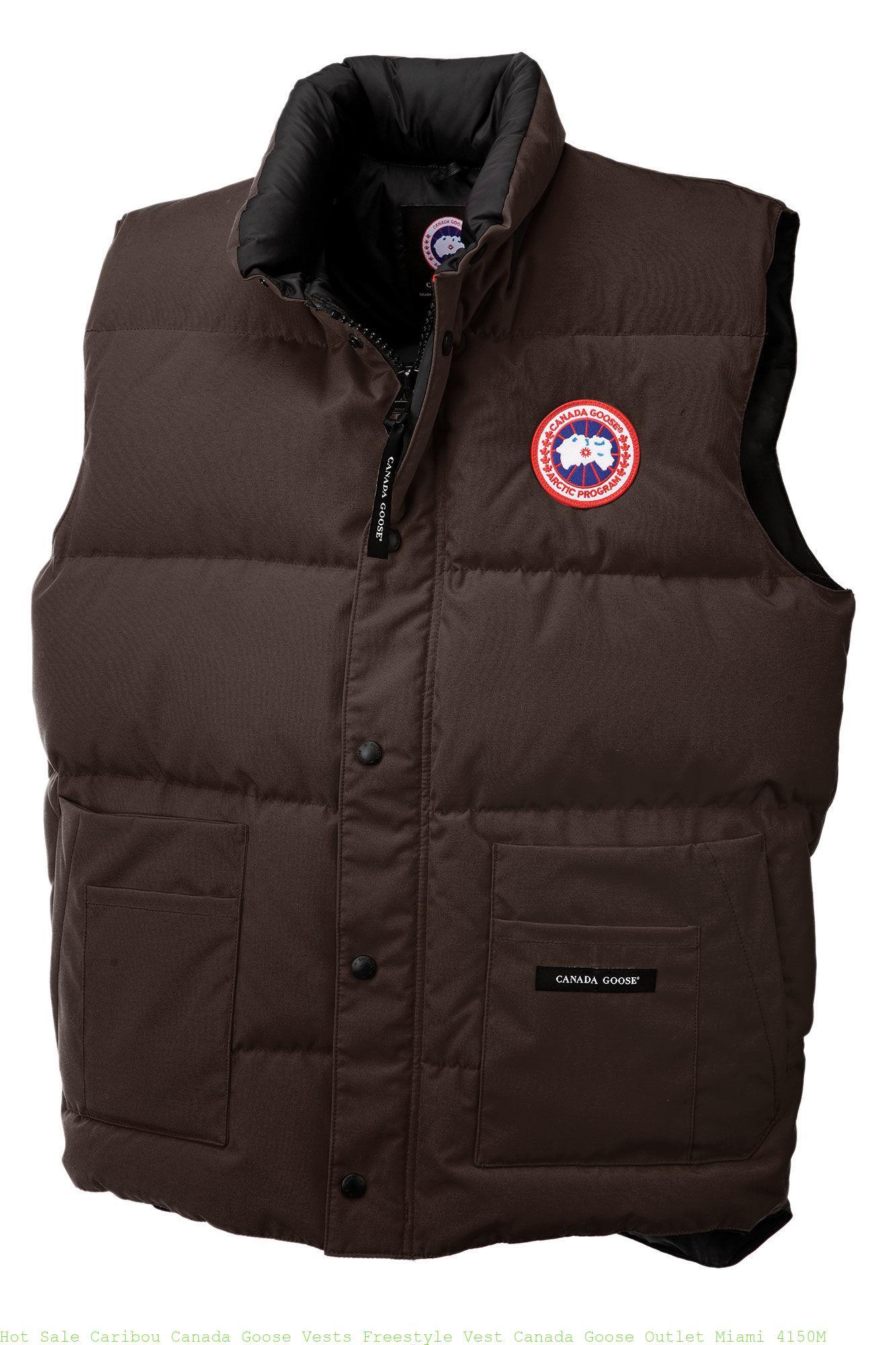 24af66e0944 Hot Sale Caribou Canada Goose Vests Freestyle Vest Canada Goose Outlet  Miami 4150M – Cheap Canada Goose Outlet Jackets Online Sale Store
